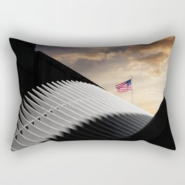 New York sunset 5 Rectangular Pillow