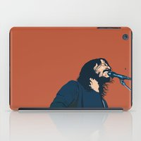 dave grohl iPad Cases featuring Dave Grohl by Gnottingham