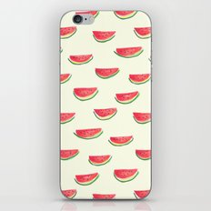 Watercolor Watermelon iPhone Skin