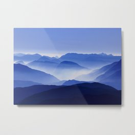 Mountains 12 Metal Print