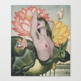 Adult Alice Canvas Print