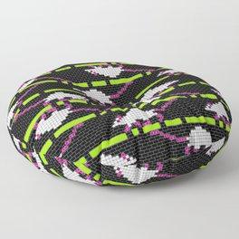 Lychee on the run Floor Pillow