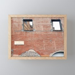 Fori Imperiali, Roma Framed Mini Art Print