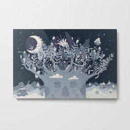 Tales of a Tree Metal Print