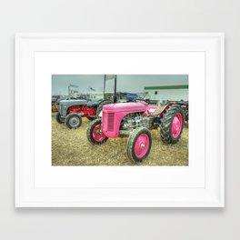 Lil Pink Fergie Framed Art Print