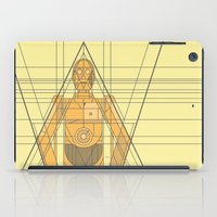 c3po iPad Cases featuring C3PO Deco Droid by modHero