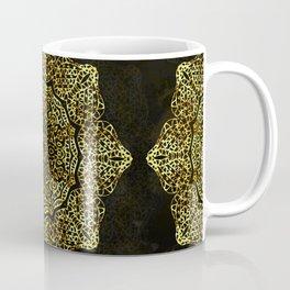 Golden Flower Mandala G346 Coffee Mug