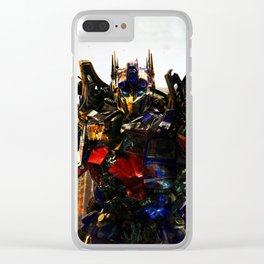 leader robot Clear iPhone Case