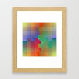 Interlock Framed Art Print