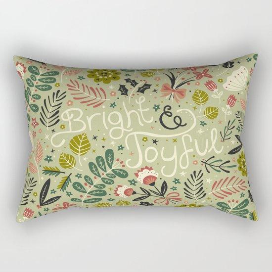 Bright & Joyful Rectangular Pillow