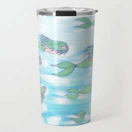 Mermaids dream by day Travel Mug