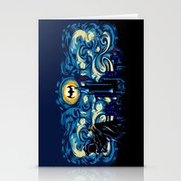 van Stationery Cards featuring Starry Knight iPhone 4 4s 5 5c 6, pillow case, mugs and tshirt by Three Second