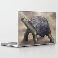 tortoise Laptop & iPad Skins featuring Tortoise by Ben Geiger