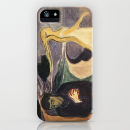 Separation by Edvard Munch iPhone Case