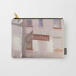 Spring Street and Broadway Carry-All Pouch