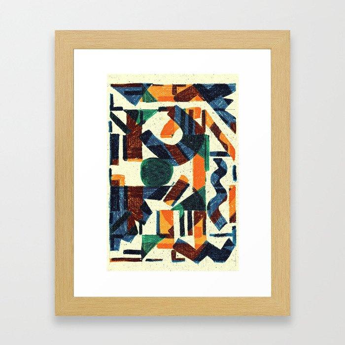 Pattern № 97 Framed Art Print