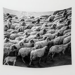 The Woolen Slaves March Wall Tapestry