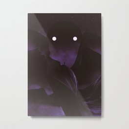 Staring Contest With The Mountain God Metal Print