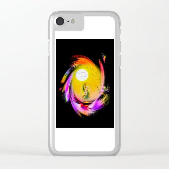 Sunrise 8 Clear iPhone Case