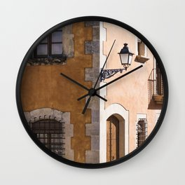 Corner House Wall Clock