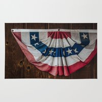 texas Area & Throw Rugs featuring Texas by Chee Sim