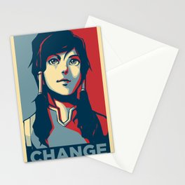 Avatar Changes Stationery Cards