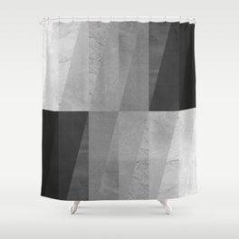 Geometric and minimalist marble VIII Shower Curtain