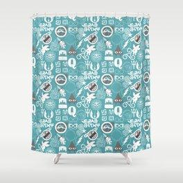 Discreet Fandoms Shower Curtain