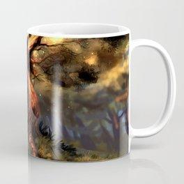 Marvelous Fantasy Woods Tree With Scary Entities Beneath UHD Coffee Mug