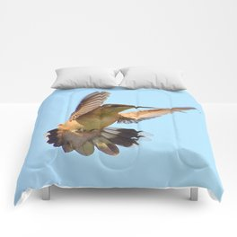 Hummer All Fanned Out Comforters