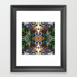 Under The Ocean With You - Rainbow Collection  Framed Art Print
