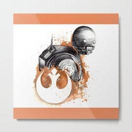 Rogue droid Metal Print