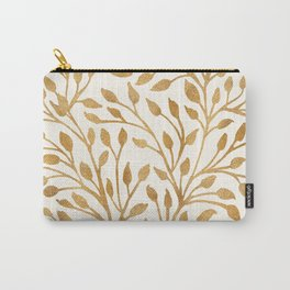 Golden Ficus Tree Carry-All Pouch