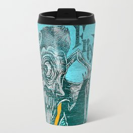 Fresh Blue Ice Cream Travel Mug