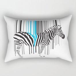 Zebra Code Rectangular Pillow