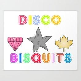 Disco Biscuits 2 Art Print