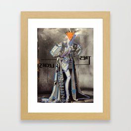 tres leches Framed Art Print