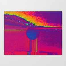 Cleansing the earth Canvas Print