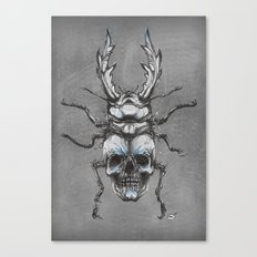 Beetleskull Canvas Print
