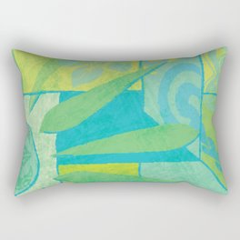 Hawaiian Pacific Tapa Design Rectangular Pillow
