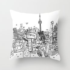 Toronto! Throw Pillow