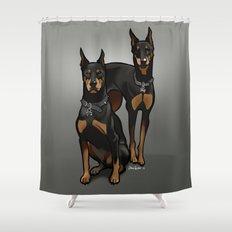 Leo & Libra Shower Curtain