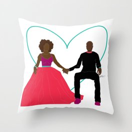 Bawse Love 06 Throw Pillow