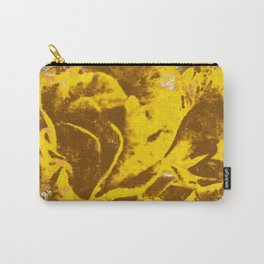 Yellow Rose Watercolor Carry-All Pouch