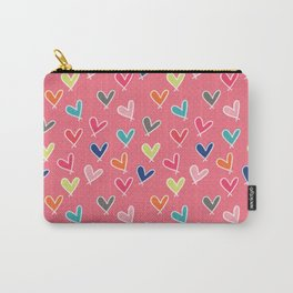 Blow Me One Last Kiss - Pink Carry-All Pouch