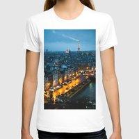 paris T-shirts featuring Paris by Luca Spanu