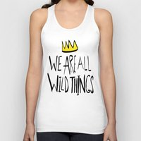 wild things Tank Tops featuring Wild Things II by Leah Flores