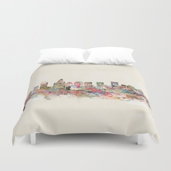 charlotte north carolina  Duvet Cover