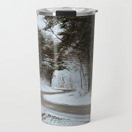 Winter Road 3 Travel Mug