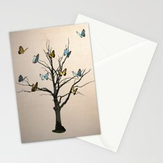 Tree of flutters Stationery Cards